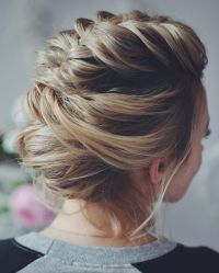 Wedding updos with braids Modern take on braids | itakeyou ...