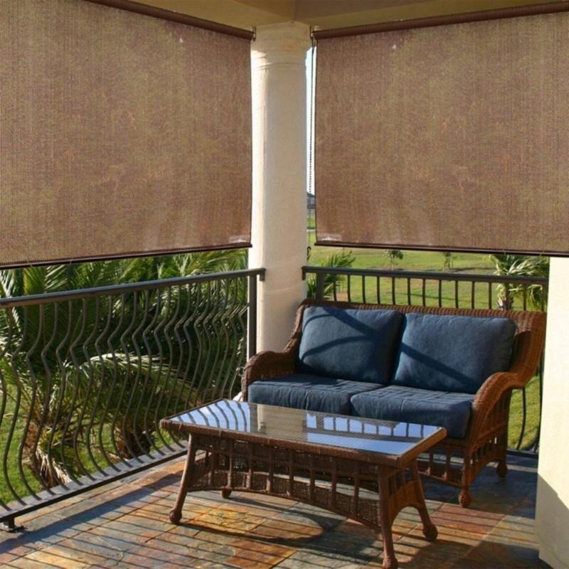 Sichtschutz Fuer Den Balkon Varianten Aus Holz Pflanzen Und ... Sichtschutz Balkon Varianten Aus Holz
