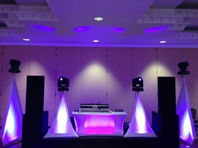 Stage Speakers Setup