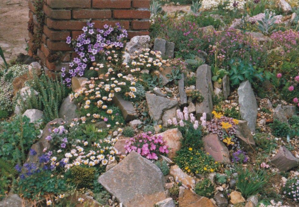 Rotstuin  Tuin Muurtjes En Stenen In De Tuin  Garden