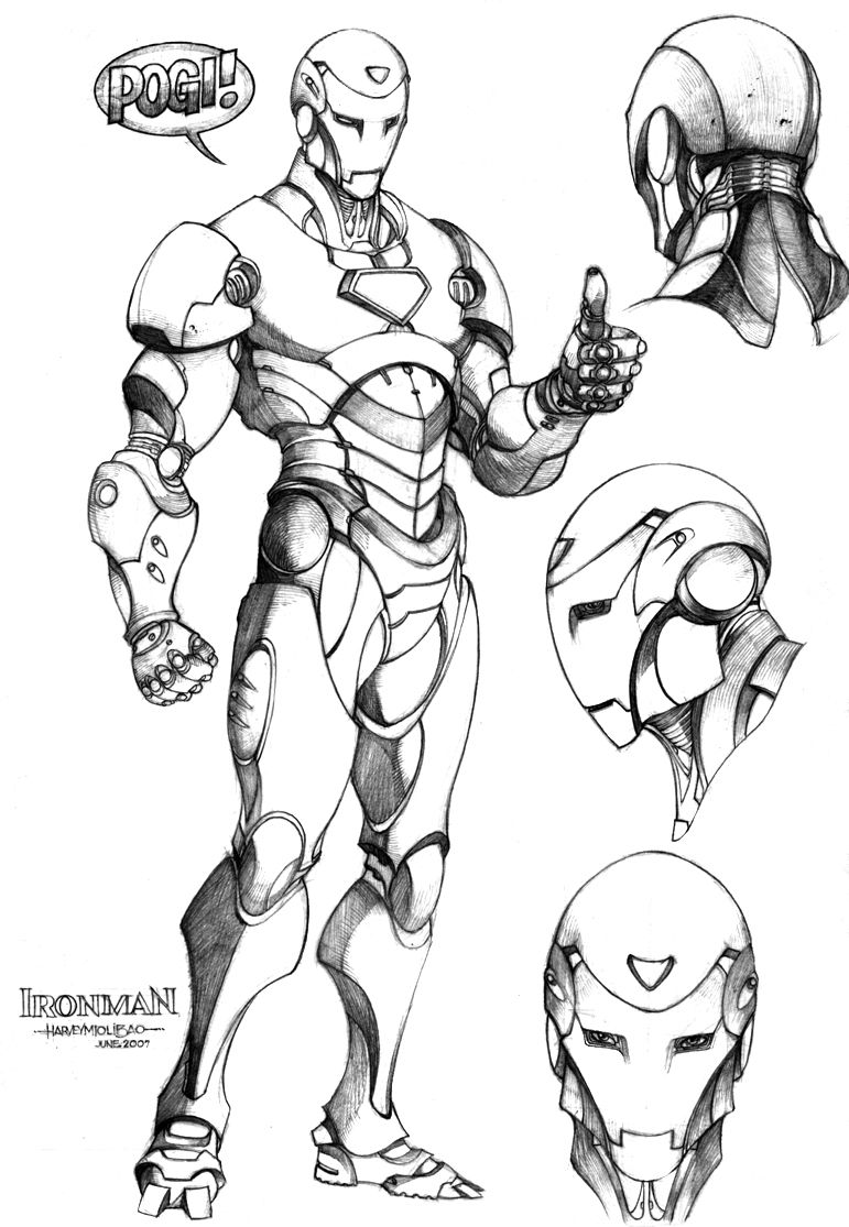 Ironman reference to be used for Project Combatron