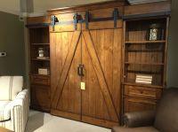 Barn door entertainment center | New House | Pinterest ...