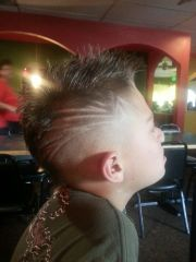 teen boy haircut kyler's closet