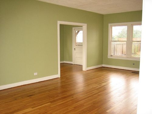 Green Paint! These Floors Are The Same Color As Ours In The New