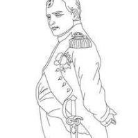 Napoleon Coloring Page | French Revolution | Pinterest ...