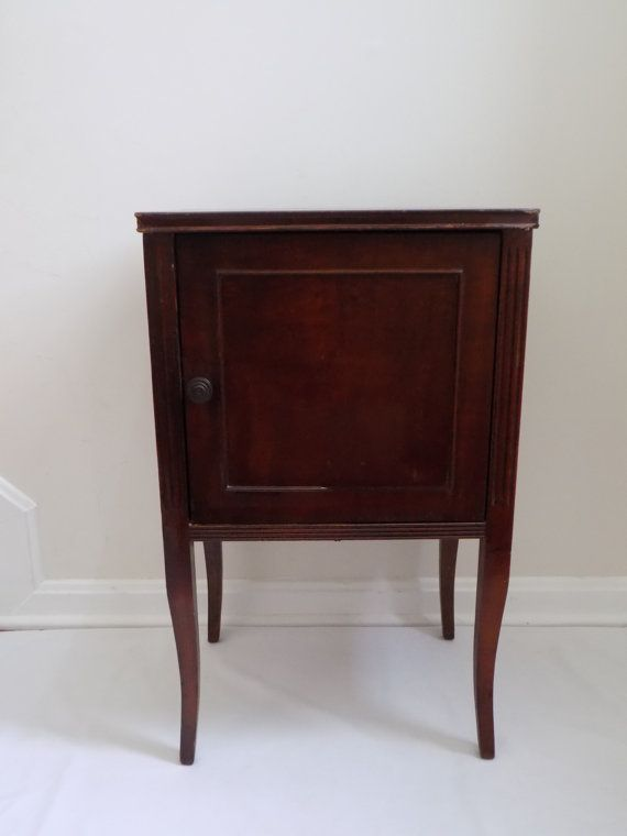 Antique Cigar Pipe Smoking Stand Side Table by