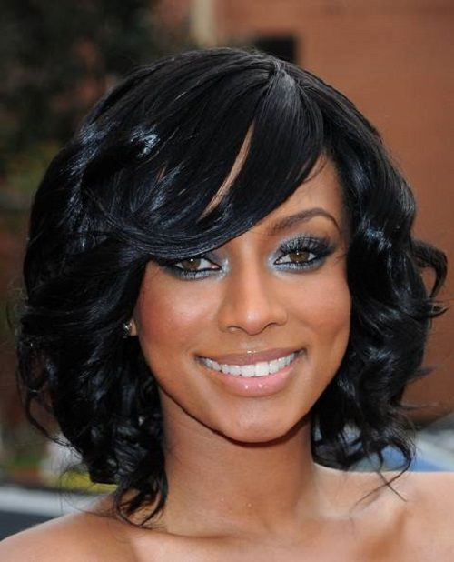 Curly Hairstyles For African American Women With Medium Length