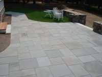 Like the neatness and shapes of the stone slabs/pavers ...