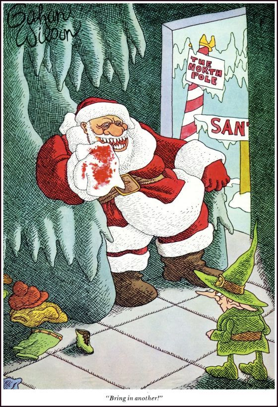 Gahan Wilson Holidays Pinterest Humor