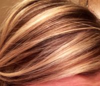 Blonde highlights with 7N lowlights | Beautification 101 ...