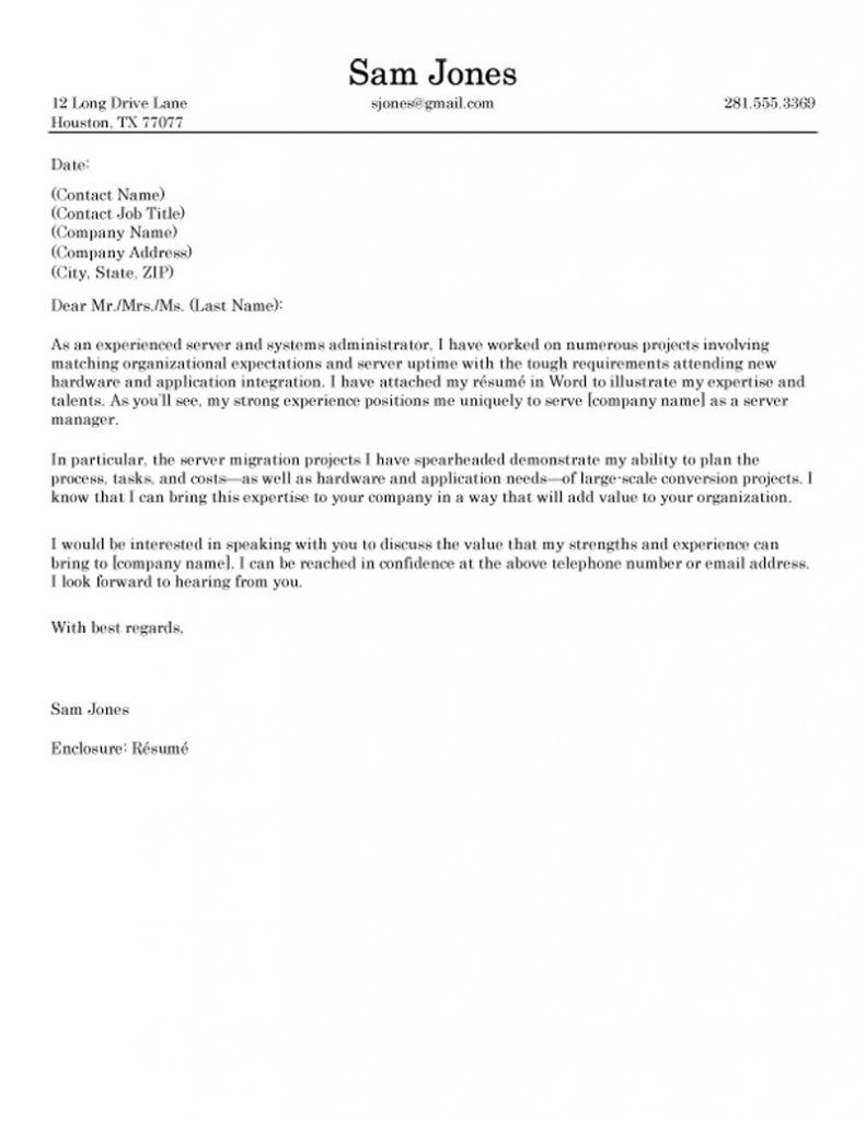 Best Cover Letter 2017 4  resume  Pinterest  Resume format