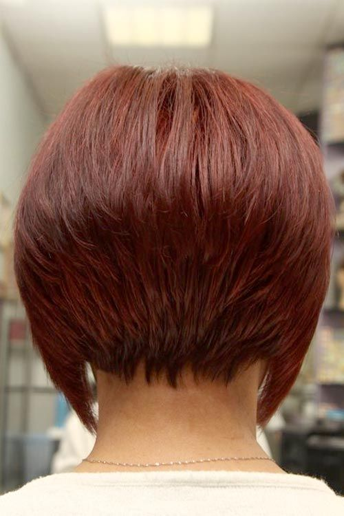 Short Red Bob Hairstyles Mom Stuff Pinterest Bobs For Women
