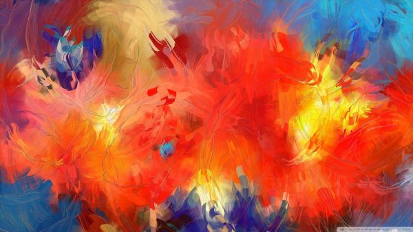 Famous Abstract Paintings - Wallpaper. Art Pieces