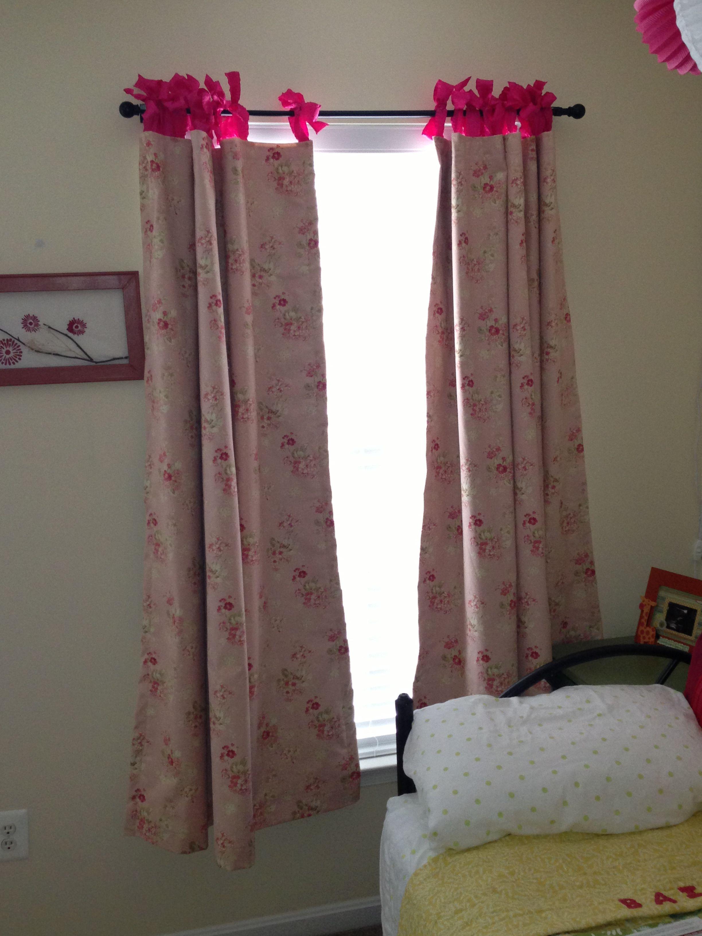 Ribbon Tab Curtains