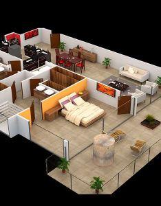 Aqualina bedroom model  rendering  designecuadorfloor also plans pinterest rh