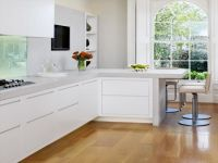 Kitchen: L Shaped Kitchen Designs With Breakfast Bar As