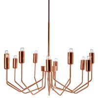 Olbia Copper Chandelier | Chandeliers, Modern and Lights