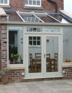 Derbyshire colour brick cosmetics say this property   extension has been matched and can be challenging also basic lean to design hardwood conservatory home decor rh cl pinterest