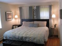 how to offset bedroom wall with one window - Google Search ...