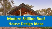 Modern Skillion Roof House Plans