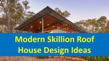 Modern Skillion Roof House Design Ideas - Houses