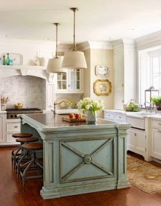 Nice modern french country kitchen decoration ideas for your home more at https also rh pinterest