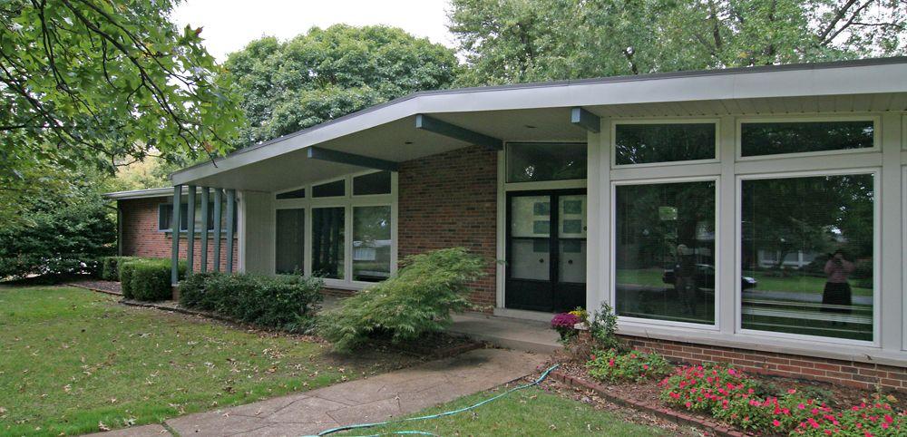 atomic ranch house plans  Vintage MidCentury Modern 200