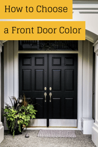 Ever wondered how to pick a front door color? This is a ...