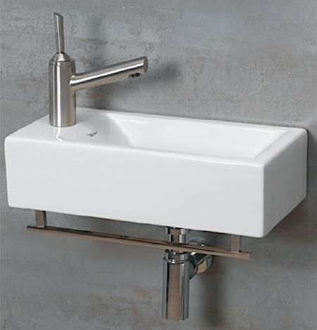10 Easy Pieces WallMounted Guest Bath Sinks A well