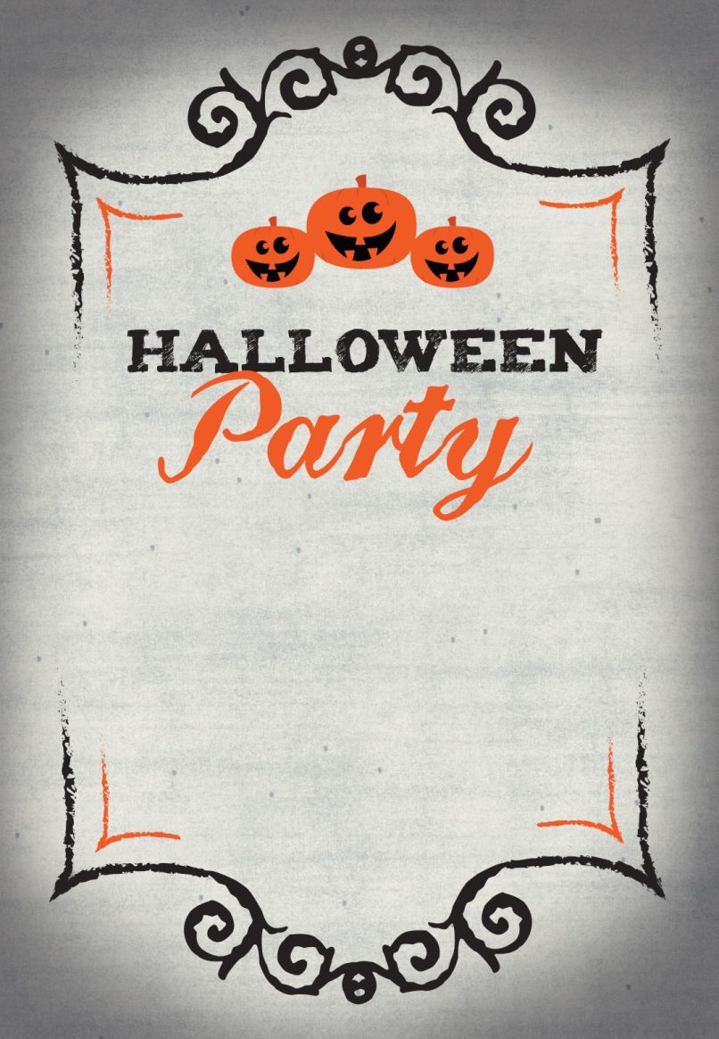 Free Halloween Invitation Templates Reviewwalls