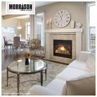 Decorating above a fireplace can be tricky! Who loves this ...