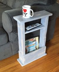 Skinny Side Table, Mini Side Table, Apartment Decor, Small ...