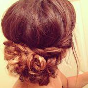 bohemian hair updo ideas