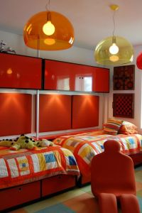 9 and 12 year Old Boys Bedrooms With Colorful Striped Twin ...