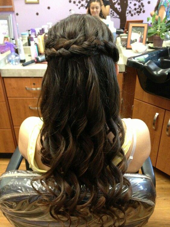 Hair For Senior Ball Senior Ball Hairstyles Pinterest