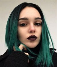 25 Green hair color ideas you have to see | Straight ...