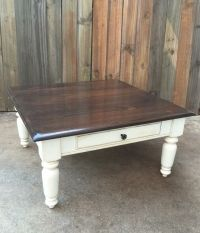 Rustic, Distressed, Shabby Chic Farmhouse Coffee Table ...