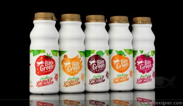 Drinking Yoghurt on Pinterest Yogurt Packaging