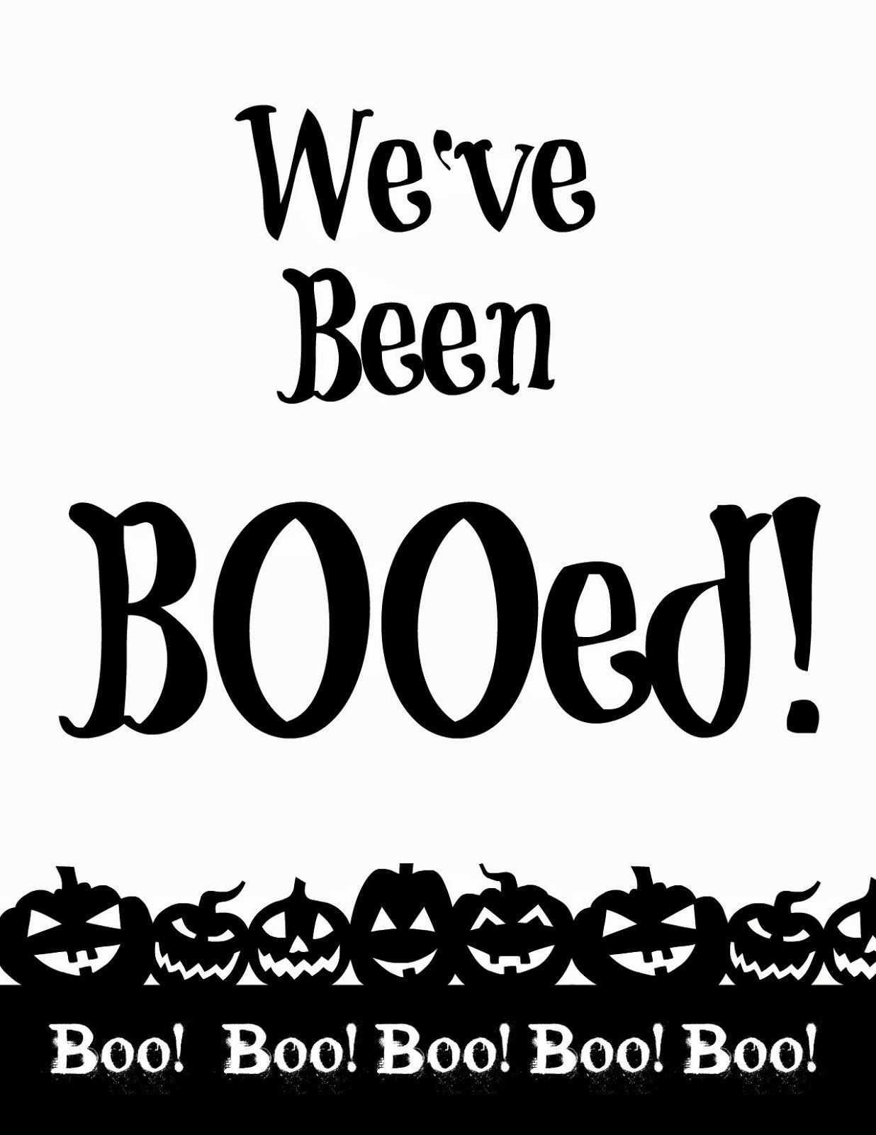 You Ve Been Booed