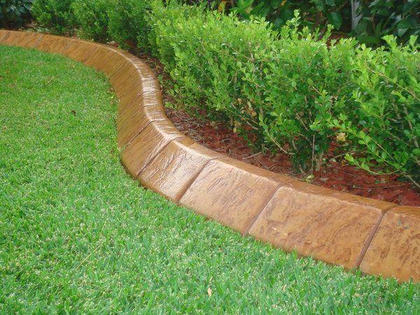 Modern Garden Edging Ideas Concrete Garden Edging Landscape Design
