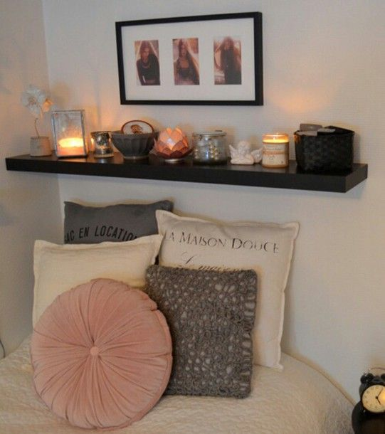 Home Accessory Shelf Lights Tumblr Room And Lazy Days