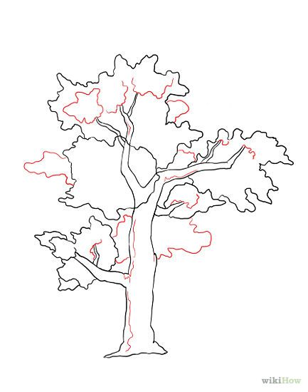 How To Draw A Tree For Kids Step By Step Trees Pop