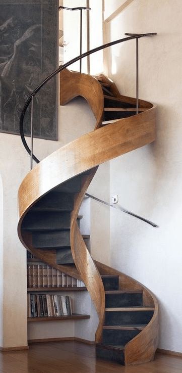 Spiral Wooden Stairs In Home Italy Designs Of Inside House Ideas Staircase  Design Modern And Retro
