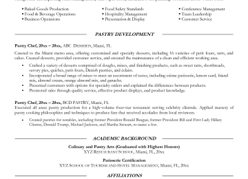Banquet Chef Cover Letter | Free Resume Templates Editor Bongdaao