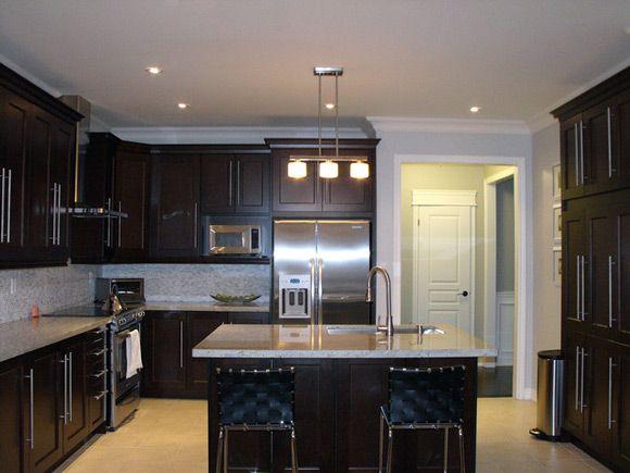 Kitchen Design Ideas Dark Cabinets Photo Of Exemplary Kitchen