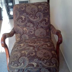 Rocking Chair Rockers Big And Tall Outdoor Lounge Chairs Refinished Reupholstered Antique Platform Rocker | Things I Love Pinterest Furniture ...