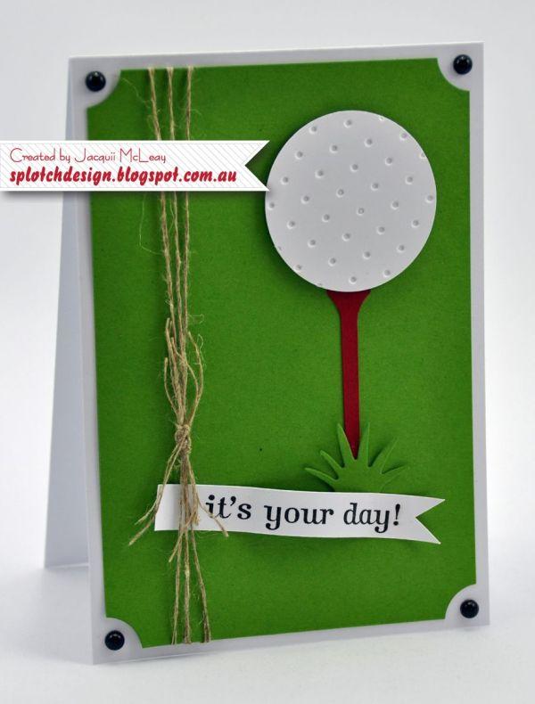 Golf Father Birthday Cards