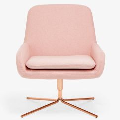 Pink Swivel Chair Restoration Hardware And A Half Drawing Inspiration From Mid Century Modern Styles