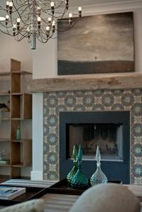 moroccan tile fireplace - Google Search | Our Dream House ...