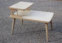 Mid Century Danish Modern Style Blonde Wood Formica Bi ...